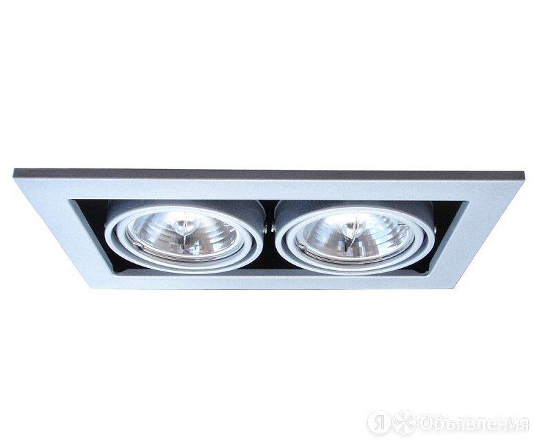 Встраиваемый светильник Arte Lamp Technika 2 A5930PL-2SI по цене 1500₽ - Встраиваемые светильники, фото 0