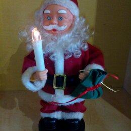 Новогодние фигурки и сувениры - Музыкальный дед мороз игрушка, 0