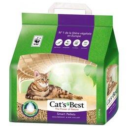 Наполнители для туалетов - Cat's Best Smart Pellets 10 л Наполнитель…, 0