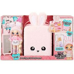 Куклы и пупсы - Na Na Na Surprise Bedroom Pink Bunny, 0