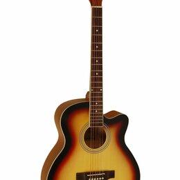Акустические и классические гитары - Акустическая гитара Jonson&Co E4011C SB, 0