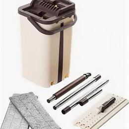 Прочие принадлежности - Комплект для уборки полов с системой отжима и полоскания швабры, 0