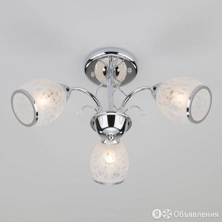 Люстра потолочная 30026/3 хром по цене 5260₽ - Люстры и потолочные светильники, фото 0