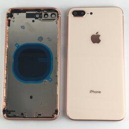 Корпусные детали - Корпус для Apple iPhone 8 Plus золотой, 0