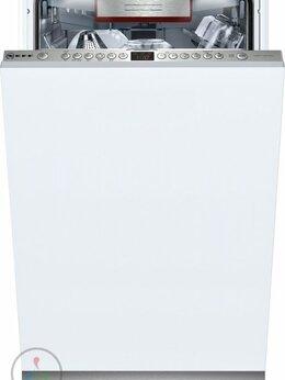Посудомоечные машины - Посудомоечная машина узкая Neff S585T60D5R, 0
