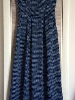 Платья - Платье летнее в мелкий горошек, 0