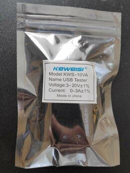USB-концентраторы - Keweisi KWS-10VA USB Tester, 0