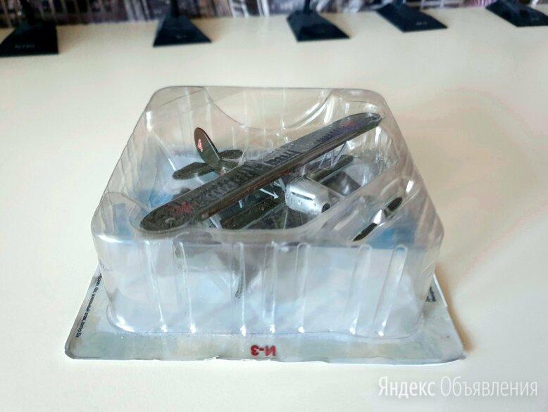 Легендарные самолеты №42 И-3 Истребитель-3 Поликарпова 1/87 Деагостини по цене 250₽ - Модели, фото 0