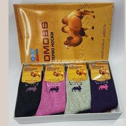 Колготки и носки - Женские термоноски из верблюжъей шерсти DMDBS - 12 штук, 0