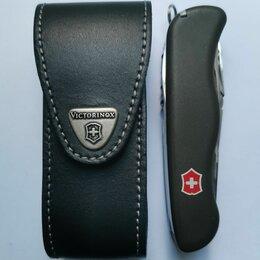 Ножи и мультитулы - Кожаный чехол Victorinox для солдатского ножа 111 мм , 0