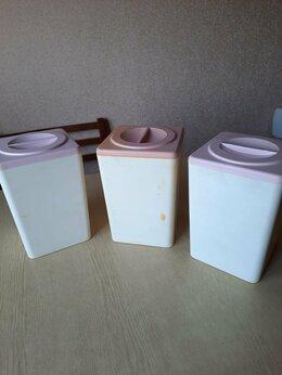 Ёмкости для хранения - Банка для сыпучих пластик 3 шт, 0