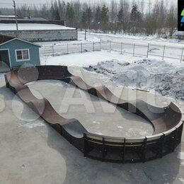Скейтборды и лонгборды - Модульный памптрек FK-ramps, 0