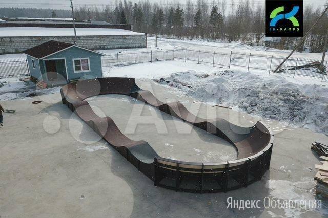 Модульный памптрек FK-ramps по цене 925000₽ - Скейтборды и лонгборды, фото 0