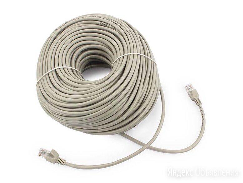 Патч-корд UTP Cablexpert PP12-50m кат.5e 50м литой по цене 620₽ - Кабели и разъемы, фото 0