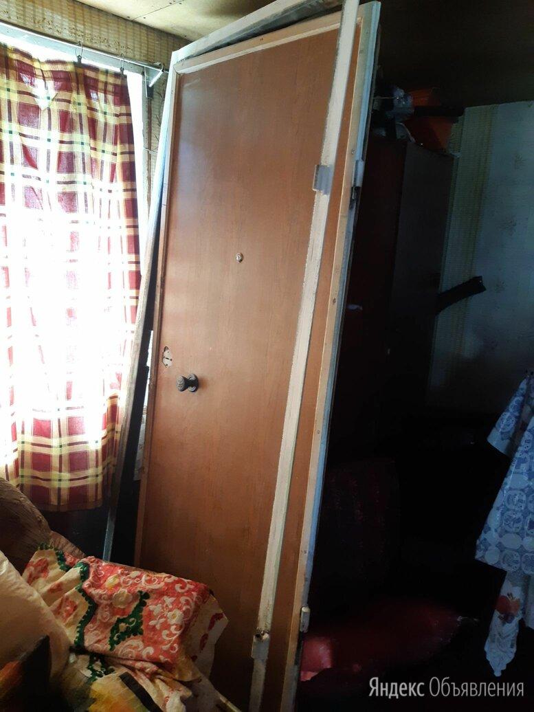 Продам железную дверь, дешево по цене 2500₽ - Входные двери, фото 0