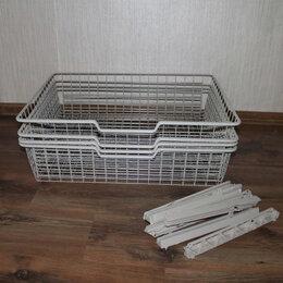 Корзины, коробки и контейнеры - Корзина для шкафа с креплением, 0