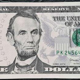 Банкноты - 5 $ USA/5 долларов США 2017 г, 0