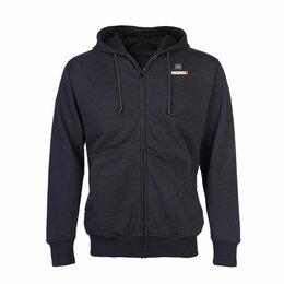 Одежда - Куртка с подогревом WORX, модель  WA4660, цвет серый, размер 2XL, 0