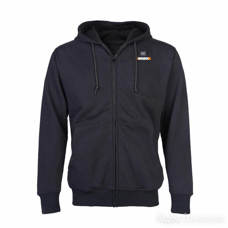 Куртка с подогревом WORX, модель  WA4660, цвет серый, размер 2XL по цене 9990₽ - Куртки, фото 0