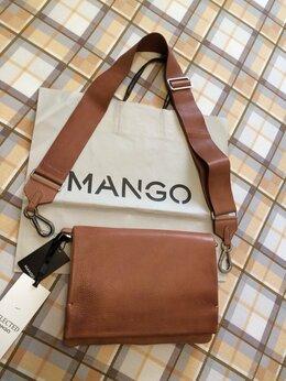 Сумки - Mango новая сумка из натуральной кожи, 0