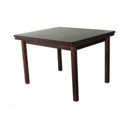 Столы и столики - Стол Квадратный обеденный деревянный четыре ножки, 0