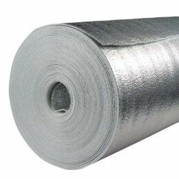 Изоляционные материалы - Изосиб ПЛ 8 мм*1м*30 м (универсальная изоляция с…, 0