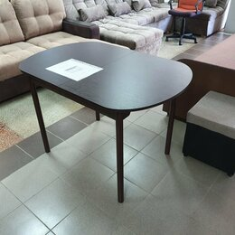 Столы и столики - Стол обеденный раздвижной закругленный, 0