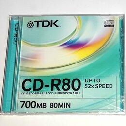 Диски - Диск TDK CD-R80  700 Mb, новый, 0