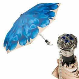 Зонты от солнца - Зонт складной Auto Georgin Blu LUX Pasotti- новый , 0