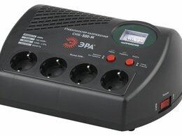 Стабилизаторы напряжения - Стабилизатор напряжения 500ВА компакт Эра…, 0