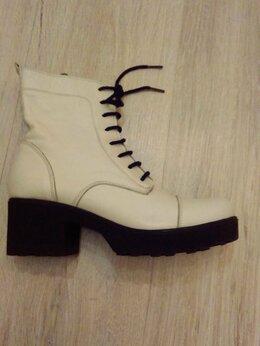 Ботинки - Ботинки демисезонные кожа 38, 0