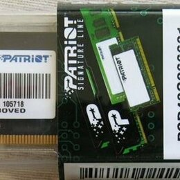 Модули памяти - Комплект из двух планок 2х8 DDR4 Patriot, 0
