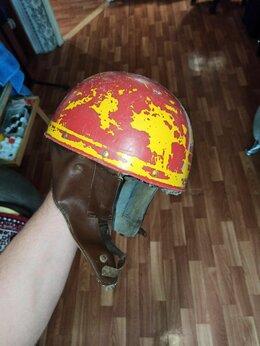 Мотоэкипировка - Шлем ретро, 0
