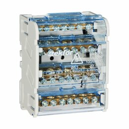 Прочие комплектующие - Кросс-модули, блоки распределительные Tekfor Шина 0 в корпусе на DIN-рейку 4х..., 0