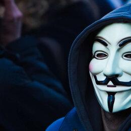 Карнавальные и театральные костюмы - Маска Анонимуса Vеndеttа Гай Фокс, 0