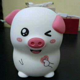Ночники и декоративные светильники - Детский светильник-ночник свинка, 0