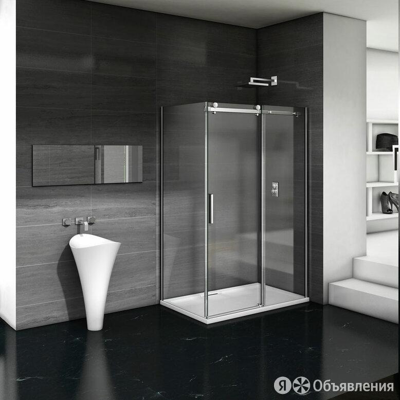 Душевой уголок Good Door Galaxy WTW+SP-C-CH 120x80, профиль хром по цене 40660₽ - Полки, шкафчики, этажерки, фото 0