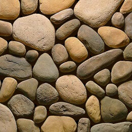 Облицовочный камень - Речной валун Декоративный камень, 0