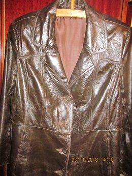 Пальто - Кожаное пальто, 0