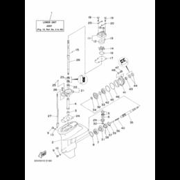Трансмиссия  - 15FMH - 16007 Подшипник шестерни передней передачи T15P (16 - 7), 0