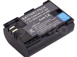 Аккумуляторы и зарядные устройства - Аккумулятор LP-E6 2650mAh Canon 60D, 6D, 5D, 7D, 0