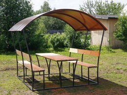 Комплекты садовой мебели - Дачные беседки, 0