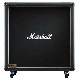 Гитарное усиление - MARSHALL 1960B кабинет гитарный, прямой, 4x12…, 0