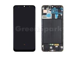 Дисплеи и тачскрины - Дисплей для Samsung A505F Galaxy A50 в рамке +…, 0