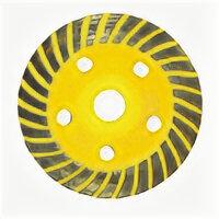 Станки и приспособления для заточки - Бибер 70712 Чашка алмазная турбо диам.125мм…, 0