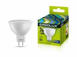 Лампочки - Светодиодная лампа GU5.3 7W 6500К Ergolux…, 0