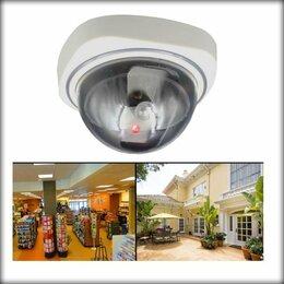 Камеры видеонаблюдения - Муляж купольной камеры, 0