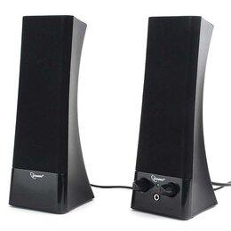 Компьютерная акустика - Акустическая система 2.0 Gembird SPK-500 черный, 0