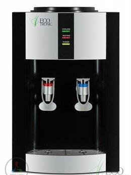 Кулеры для воды и питьевые фонтанчики - Кулер для воды ECOTRONIC H1-T black, 0