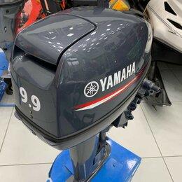 Двигатель и комплектующие  - Yamaha 9.9 сил Б/У лодочный мотор, 0